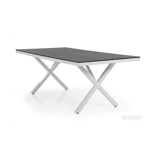 Brafab Leone-ruokapöytä, X-jalka