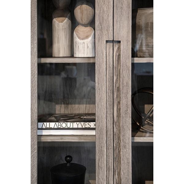 Artwood Hunter-vitriini antiikin harmaa