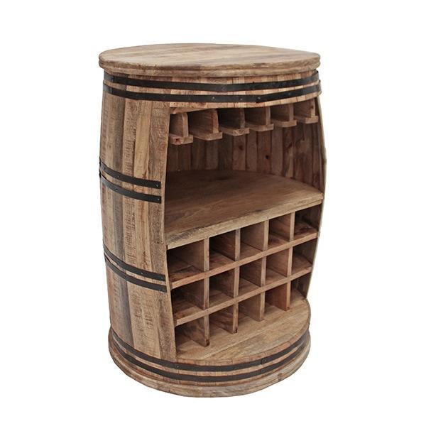 Canett Crazy Wine Barrel -viinihylly