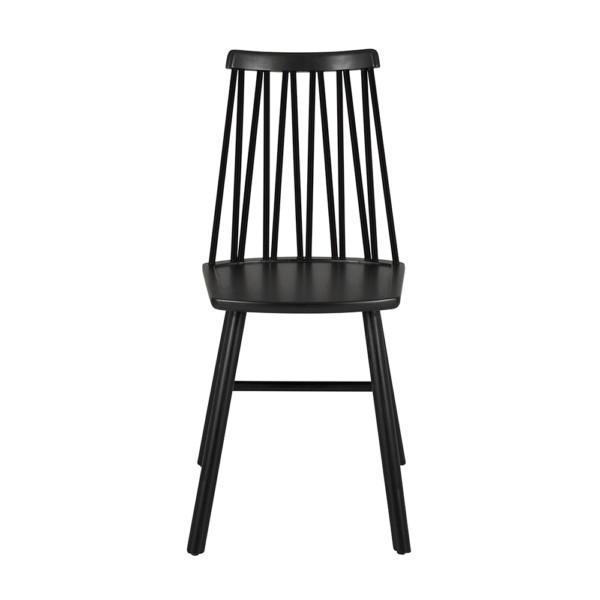 Hans K ZigZag-tuoli musta
