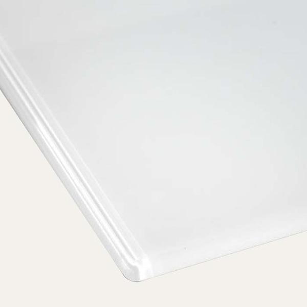 Hiipakka Taiga-säilytyskalusteet lasikansi valkoinen