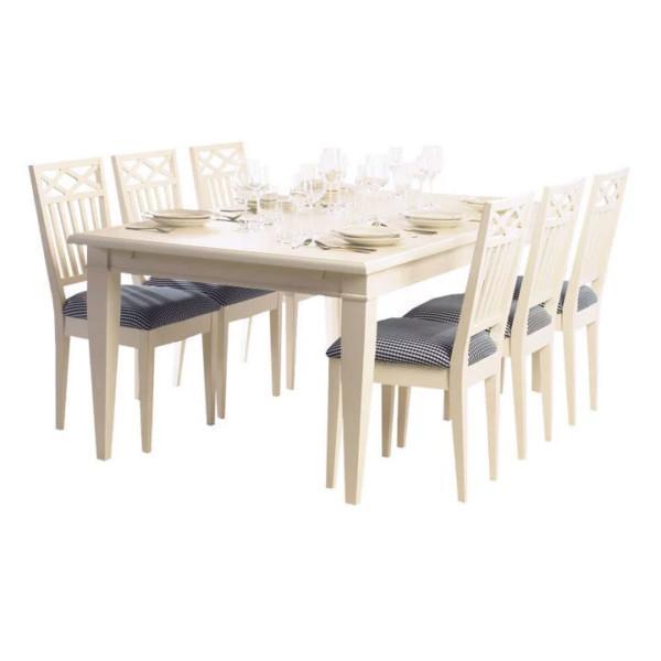 Lundbergs Möbler Wilma-ruokapöytä
