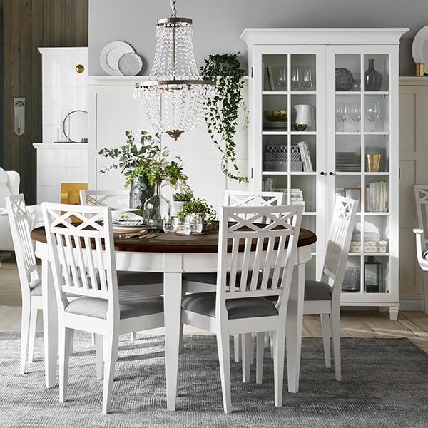 Lundbergs Möbler Wilma-vitriini