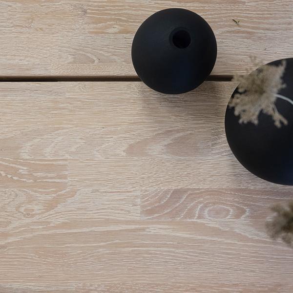 Rowico Fred-pöydän kansi valkopesty tammi
