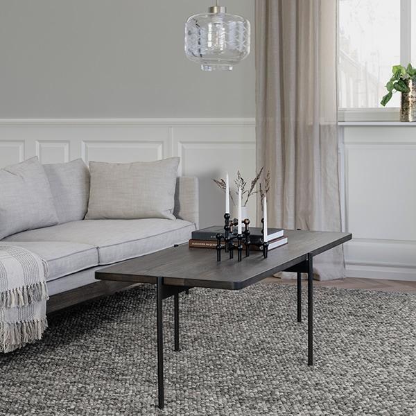 Rowico Shelton-sohvapöytä ruskea