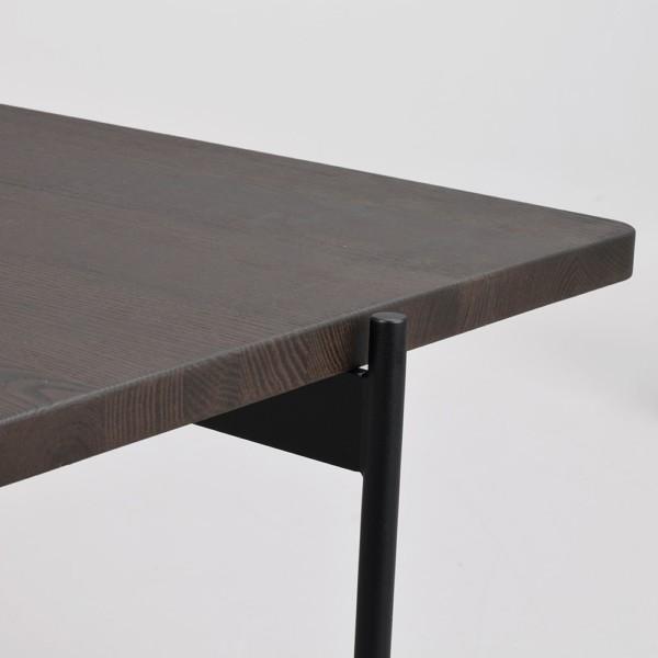 Rowico Shelton-sohvapöytä ruskea kansi